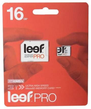 Карта памяти Leef Micro SD PRO LFMSDPRO-01610R 16GB