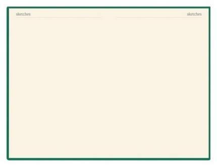 Бизнес-блокнот BrunoVisconti, А5, 100 листов, клетка, на резинке, Зеленый