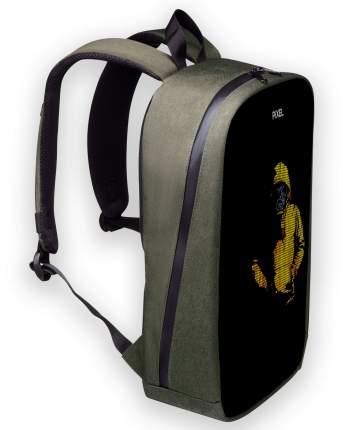 Рюкзак с Led-экраном Pixel Max - Midnight Green (тёмно-зелёный)