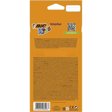 Карандаши цветные BIC Kids Evolution ECOlutions Коробка x12