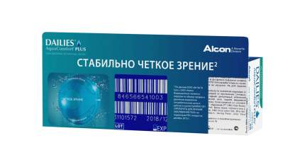 Контактные линзы Dailies AquaComfort Plus Астигматизм 30 линз -0,25/-0,75/160
