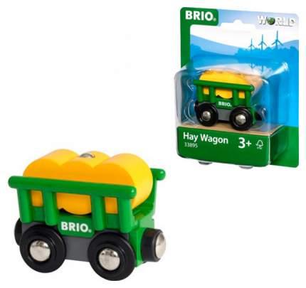 Набор игровой BRIO Вагончик с сеном