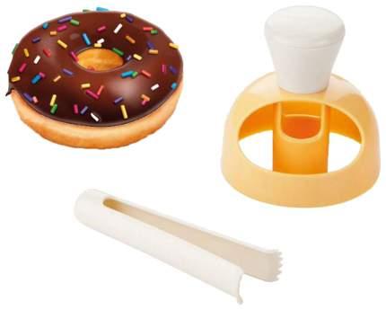 Набор кухонных принадлежностей Tescoma DELICIA 630047 Оранжевый, белый
