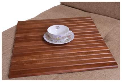 Поднос Мебелик коричневый