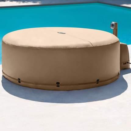 Теплосберегающий тент-чехол для надувных джакузи intex, арт, 28523, Интекс
