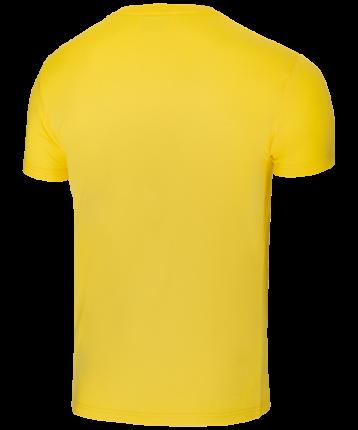 Футболка мужская Jogel JCT-5202-041, желтые/белые, XL INT