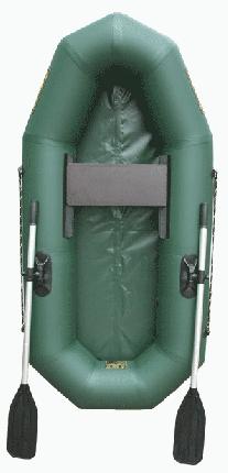 Лодка Leader Компакт-200 2 x 0,95 м green
