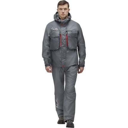 Куртка для рыбалки Nova Tour Fisherman Риф V2, темно-серая, L INT, 182 см