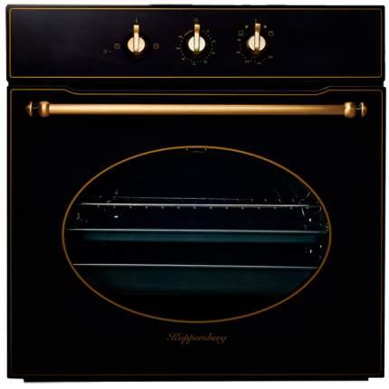 Встраиваемый газовый духовой шкаф KUPPERSBERG SGG 663 B Black