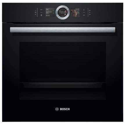 Встраиваемый электрический духовой шкаф Bosch HBG636LB1 Black