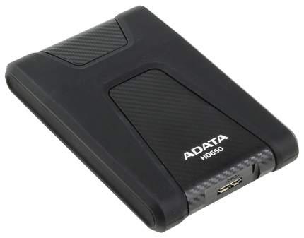 Внешний диск HDD ADATA DashDrive Durable 1TB Black (AHD650-1TU3-CBK)