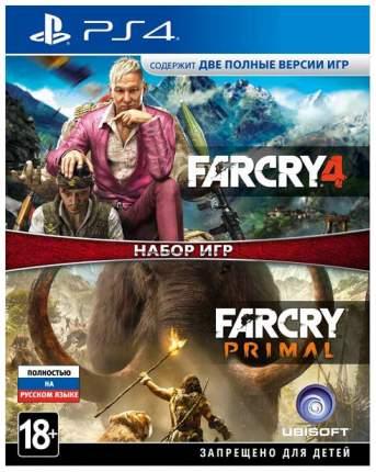 Игра для PlayStation 4 Far Cry 4+Far Cry Primal