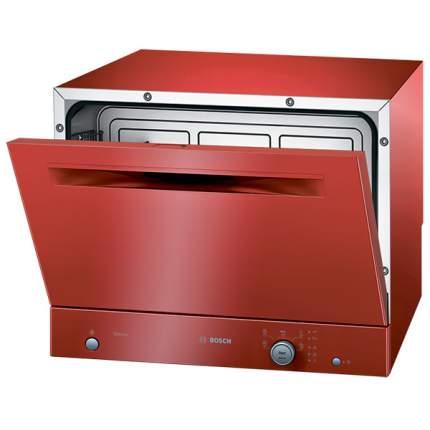 Посудомоечная машина компактная Bosch SKS51E11RU red