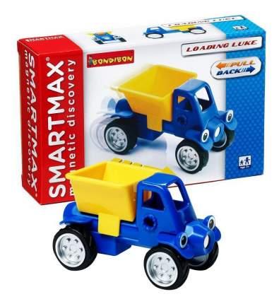 Магнитный конструктор smartmax/ Bondibon специальный набор инерц.:грузовичок люк