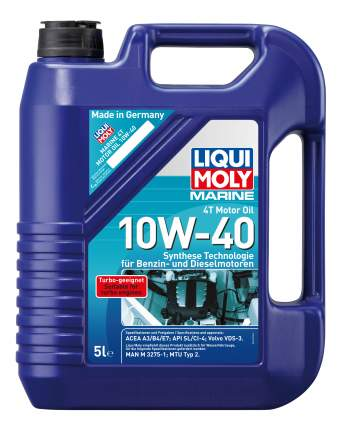 Моторное масло Liqui moly Marine 4T Motor Oil 10W-40 5л