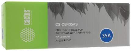 Картридж для лазерного принтера Cactus CS-CB435AS черный