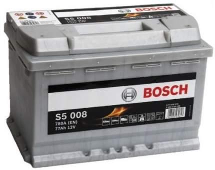 Аккумулятор автомобильный автомобильный Bosch S5 Silver Plus 0 092 S50 080 77 Ач