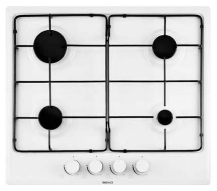 Встраиваемая варочная панель газовая Beko HIMG 64223 W White