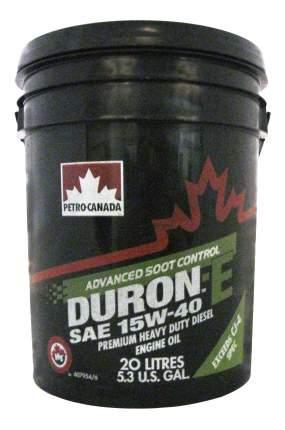 Моторное масло Petro-canada Duron-E 15W-40 20л