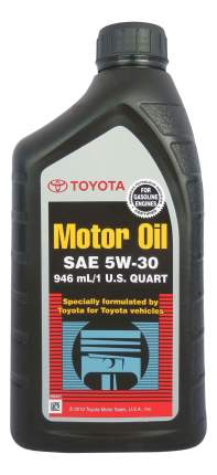 Моторное масло Toyota SM/SN 5W-30 0,946л