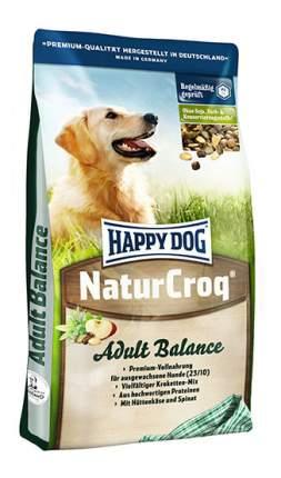 Сухой корм для собак Happy Dog NaturCroq Balance, птица, говядина, морская рыба, 1кг