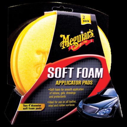 Аппликатор мягкий поролоновый (Soft Foam Applicator Pads, 10 см) набор из 2 штук X-3070