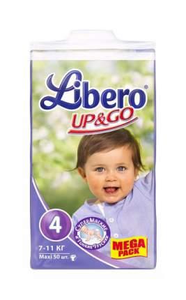 Подгузники Libero Up&Go Maxi 4 (7-11 кг), 50 шт.