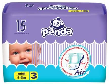 Подгузники Bella Baby Happy Panda Midi 3 (5-9 кг), 15 шт.