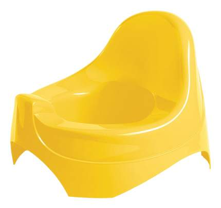 Горшок детский Бытпласт Горшок желтый