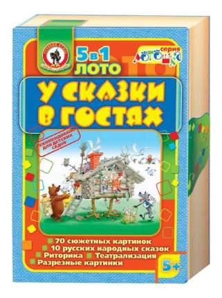 Семейная настольная игра Русский Стиль Лото У сказки в гостях 3280