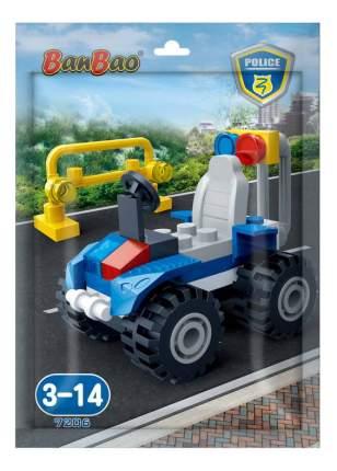 Конструктор пластиковый BanBao Полицейский джип