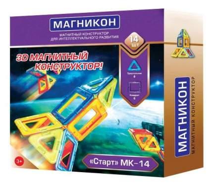 Конструктор магнитный Магникон Старт