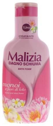 Пена для ванн Malizia Монои и лотос 1000 мл