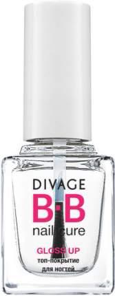 BB Топ-покрытие для ногтей DIVAGE Nail Cure, Gloss Up, New Pack