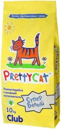 Наполнитель для туалета Prettycat Впитывающий 10 кг Без запаха