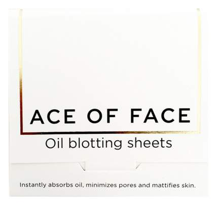 Матирующие салфетки Ace Of Face Oil Blotting Papers 80 шт