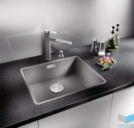 Мойка для кухни керамическая Blanco SUBLINE 375-U 516041 серый алюминий