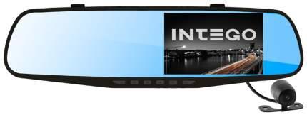 Салонное зеркало заднего вида с регистратором Intego VX-410MR