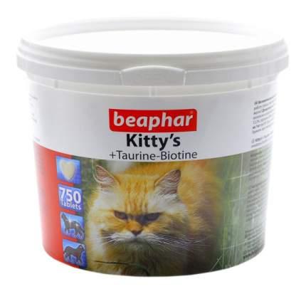 Витаминный комплекс для кошек Beaphar Kitty's, Сердечки с таурином и биотином 750 таб