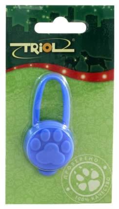 Подвеска-маячок для кошек и собак Triol Светодиодный брелок силиконовый, 66x32 мм