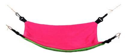 Гамак для хорьков OSSO Fashion флис 33x43см розовый, зеленый