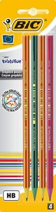 Набор карандашей чернографических BIC Evolution 646 4 шт.