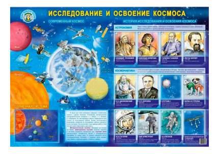 Интерактивный плакат Маленький гений Исследование и освоение космоса