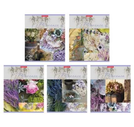 Тетрадь ученическая 96 листов Клетка Provence lavender