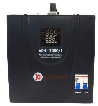 Однофазный стабилизатор Калибр АСН-3000/1 60751