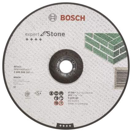 Отрезной круг Bosch КАМЕНЬ 230Х3 мм ВОГН 2608600227