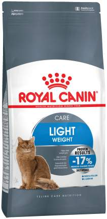 Сухой корм для кошек ROYAL CANIN Light Care, для склонных к полноте, 2кг