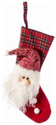Новогодний носок Holiday Classics HCF17120 Белый, красный
