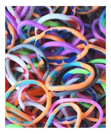 Плетение из резинок Rainbow Loom Розовый камуфляж 600 резиночек и клипсы
