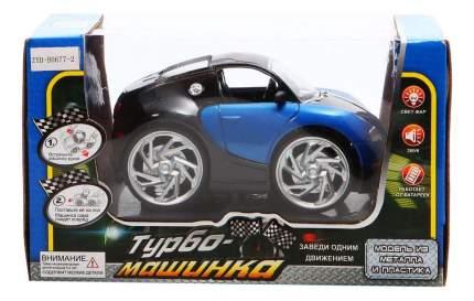 Машинка Zhorya Турбо машинка черно-синяя